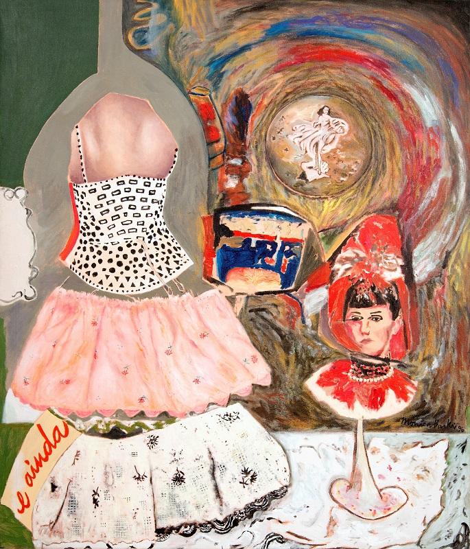 Monica-Barki-Vestidos-em-Pedaços-1996-tinta-acrílica-sobre-tela-142-x-121cm