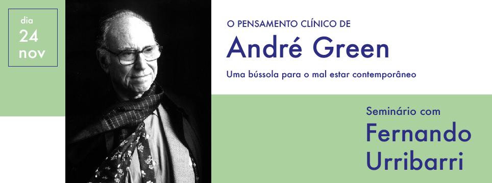 evento André Green - Fernando Urribarri